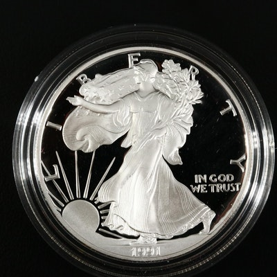 1991-S American Silver Eagle $1 Proof Bullion Coin