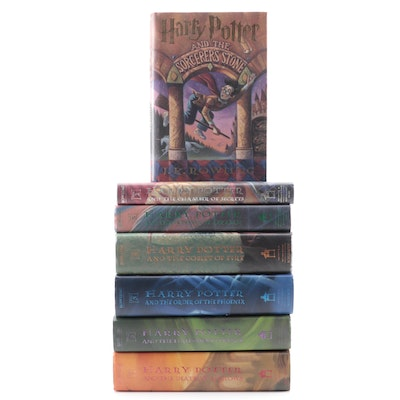 "First American Edition ""Harry Potter"" Complete Series by J. K. Rowling"