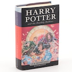 "First UK Edition ""Harry Potter and the Deathly Hallows"" by J. K. Rowling, 2007"