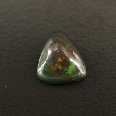 Loose 2.04 CT Triangular Opal Cabochon