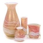 Gozo Art Glass Vases