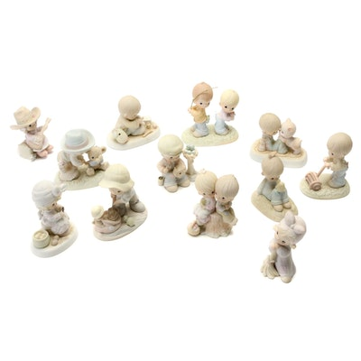 """Love One Another"" and Other Precious Moments Figurines"