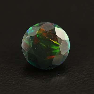 Loose 1.95 CT Round Faceted Opal