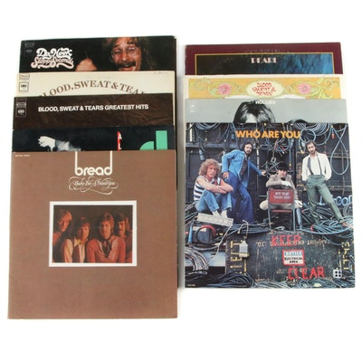 The Who, Hollies, The Doors, Janis Joplin, and Other Vinyl Records