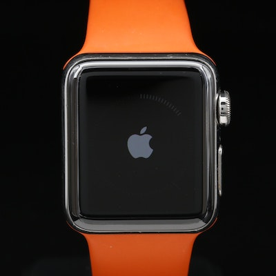 Hermes Series 2 Apple Watch Including Additional Leather Double Tour Band