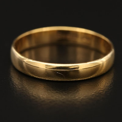 Vintage Bristol Seamless Ring Co. 14K Gold Band