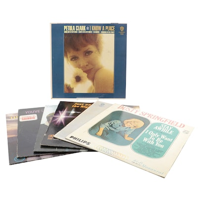 Dusty Springfield The Righteous Brothers, and Other Vinyl Records