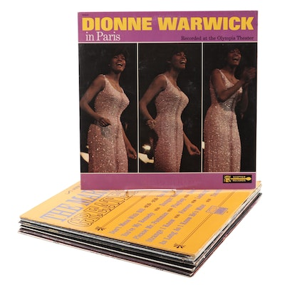 Etta James, Dionne Warwick, the Shirelles, and Other Vinyl Records