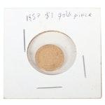 1857 Indian Princess Type Gold Dollar