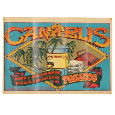 "Rick Griffin Offset Lithograph ""Canablis"", 20th Century"