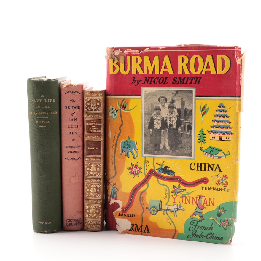 """""""Burma Road,"""" """"Life in the Rocky Mountains,"""" and Other Books"""