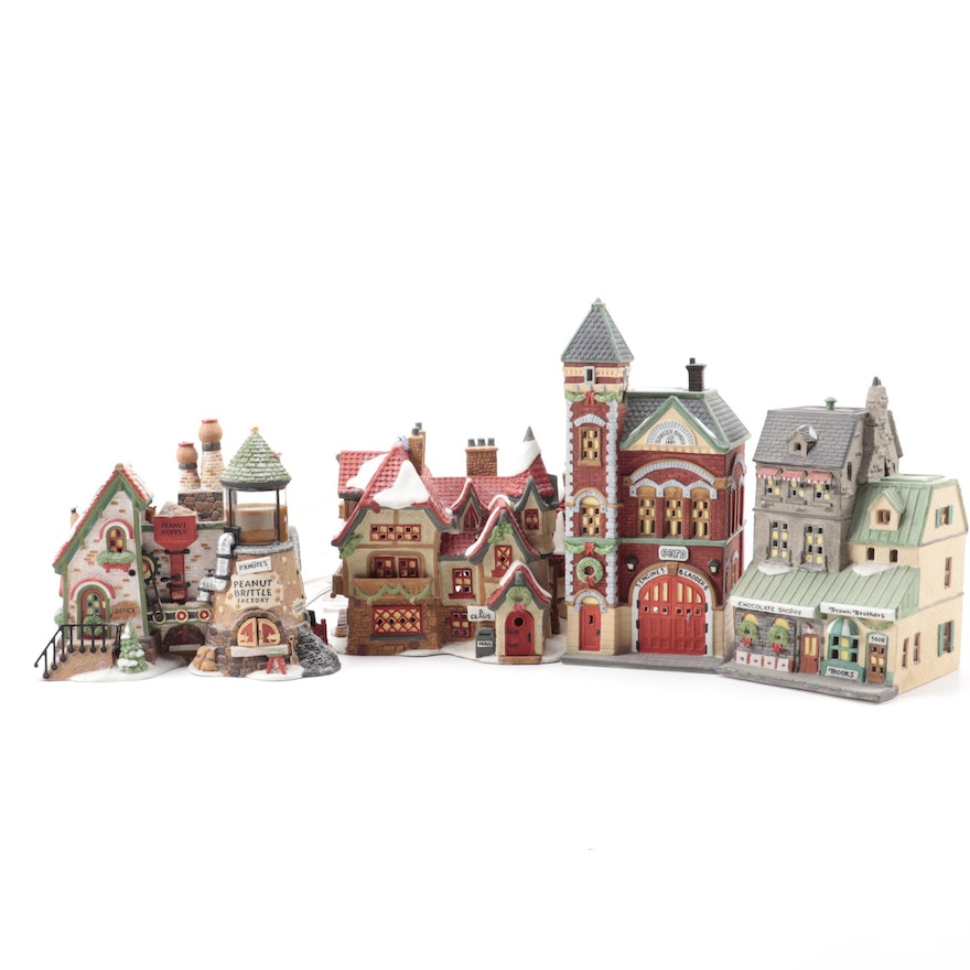 "Department 56 ""North Pole"" and ""Christmas in the City"" Series Christmas Display"