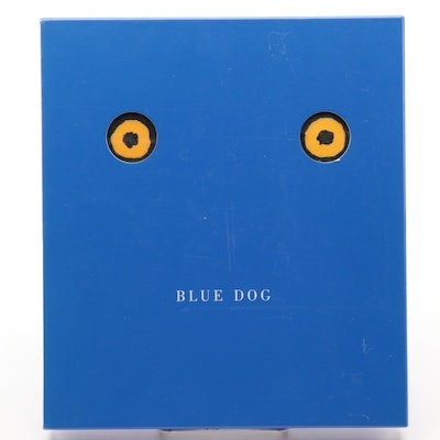 """Blue Dog"" by George Rodrigue and Lawrence S. Freundlich, 1994"