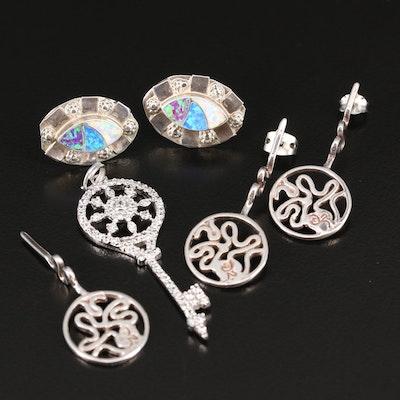 Sterling Jewelry Featuring Daniel Espinosa Earrings
