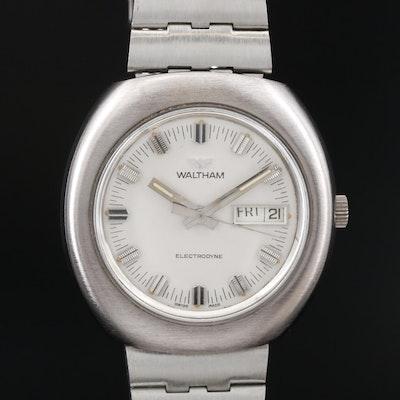 Vintage Waltham Electrodyne Day - Date Wristwatch