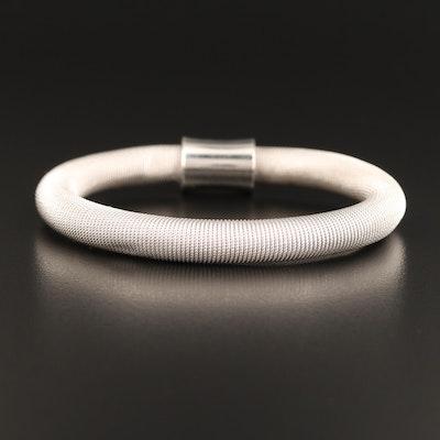 Sterling Silver Cable Wrap Bracelet