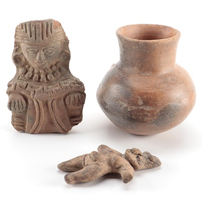 Pre-Columbian Style Terracotta Objects