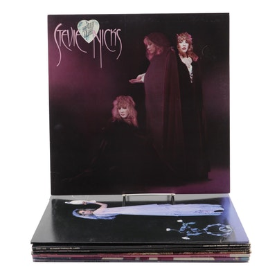 Blondie, Donna Summer, Pat Benatar, and Other Vinyl Records