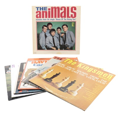 The Kingsmen, The Animals, Paul Revere & the Raiders, and Other Vinyl Records
