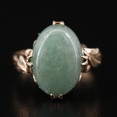 Vintage Quartzite Oval Ring
