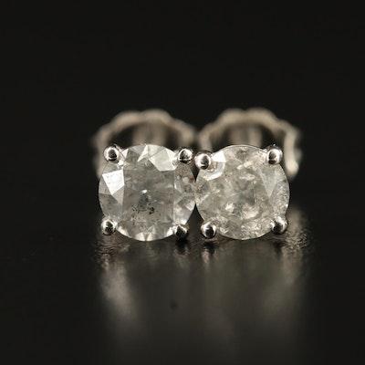 14K Martini Set 1.35 CTW Diamond Stud Earrings