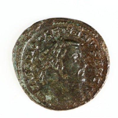 Ancient Roman Imperial AE Follis Coin of Dioceltian, ca. 303 A.D.