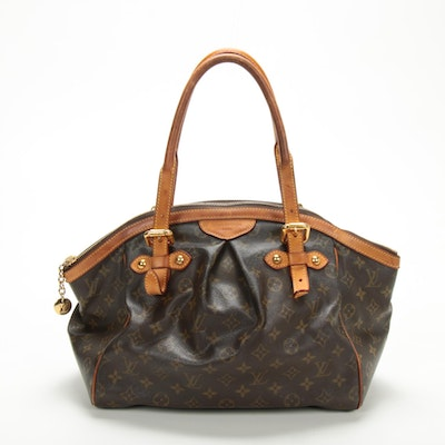 Louis Vuitton Tivoli GM in Monogram Canvas and Vachetta Leather
