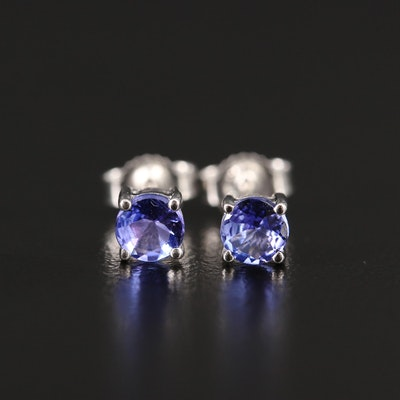 14K Tanzantie Stud Earrings