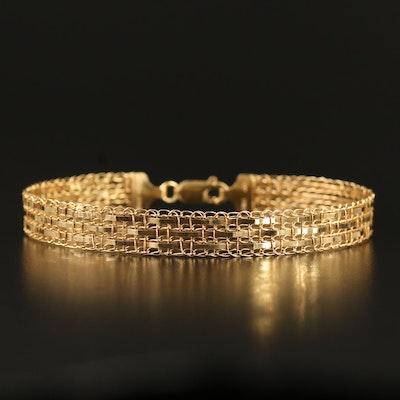 10K Woven Bracelet