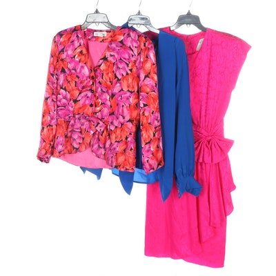 Argenti, Lauren Alexandra and B.G. Street Silk Dress and Separates