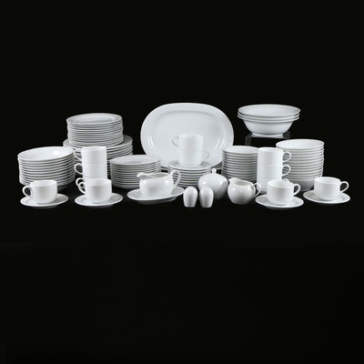 "Noritake ""Contemporary Arctic White"" Bone China Dinnerware"
