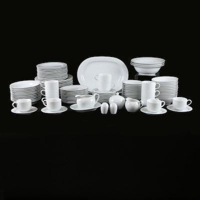 """Noritake """"Contemporary Arctic White"""" Bone China Dinnerware"""