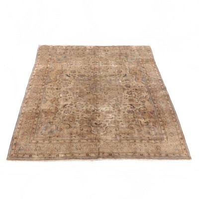 9'7 x 12'1 Hand-Knotted Persian Fereghan Wool Rug
