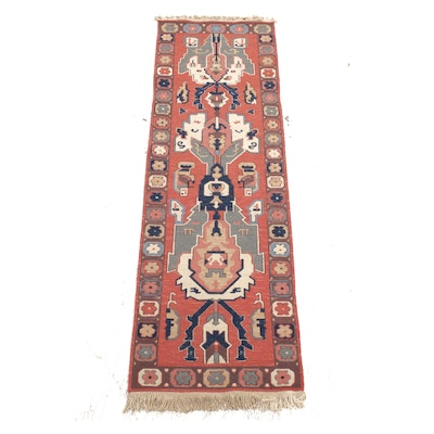 2'7 x 8'8 Hand-Knotted Turkish Northwest Persian Runner Rug