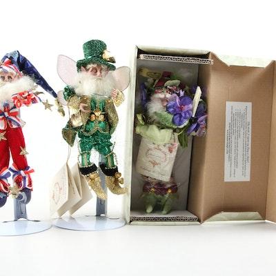 "Mark Roberts ""Leprechaun Fairy"" and Other Figurines"
