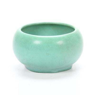 Rookwood Pottery Matte Glaze Sugar Bowl, 1942