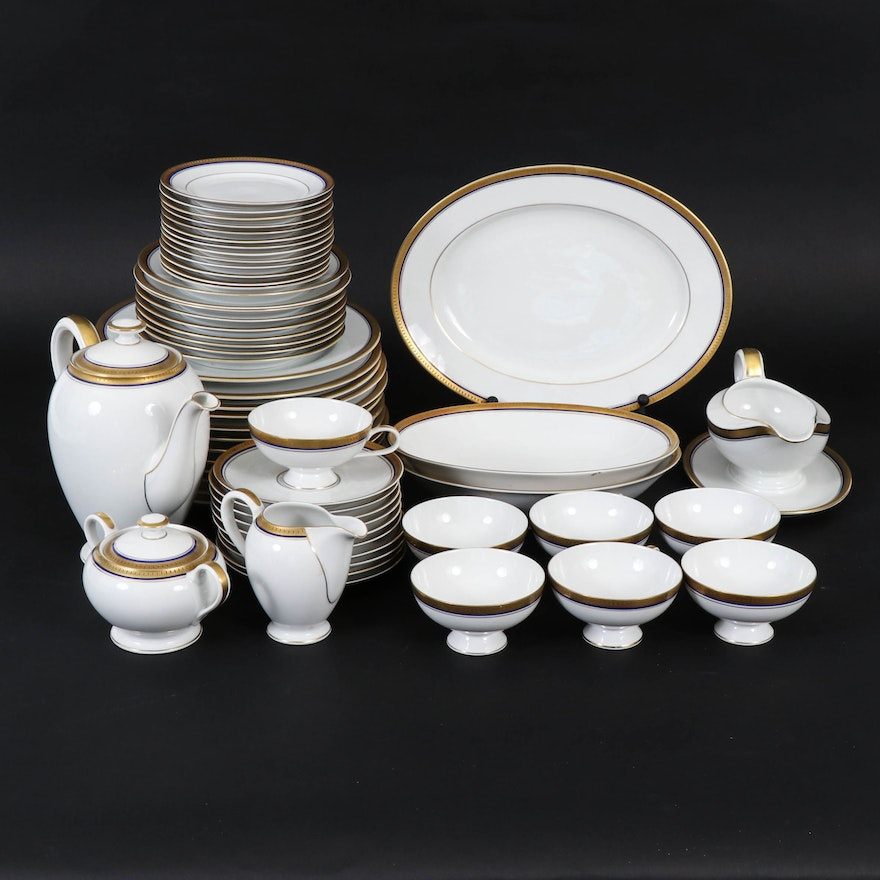"Thomas ""Electra"" German Bone China Dinner and Serveware, Mid-20th Century"