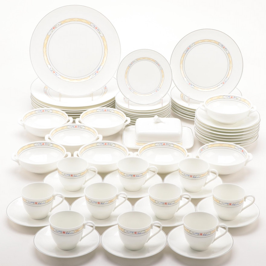 "Villeroy & Boch ""Orlando"" Bone China Dinnerware, 1984–1986"