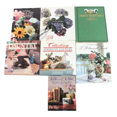 """American Country Homes and Their Gardens"" with Home Decor Books"