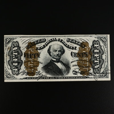 1863 50-Cents Fractional Currency Note, Third Issue