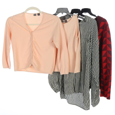 Saks Fifth Avenue Brand Cardigan Set and Patterned Separates