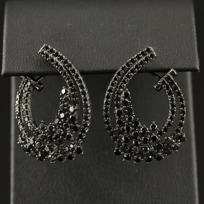 Sterling Cubic Zirconia Drop Earrings