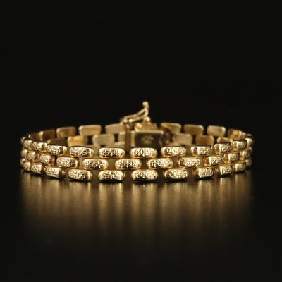 Michael Anthony 14K Panther Link Bracelet