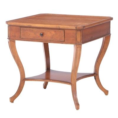 Vanguard Furniture Walnut and Cherrywood Side Table