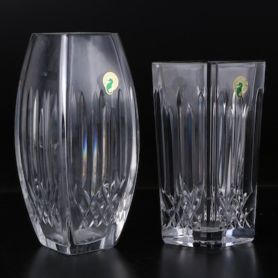 "Waterford Crystal ""Lismore"" Vases"