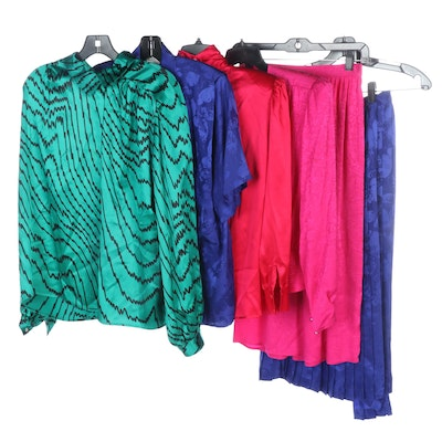 Argenti, Raoul and Courtney Rhodes Silk Sets and Separates