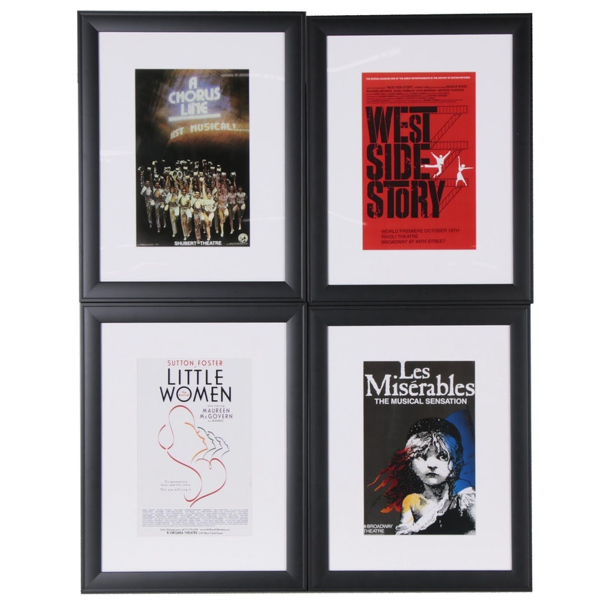 Offset Lithograph Movie and Musical Posters