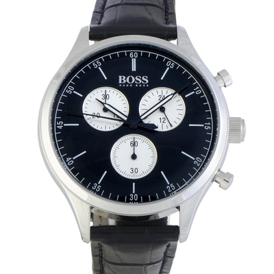 Hugo Boss Companion 42mm Wristwatch Black