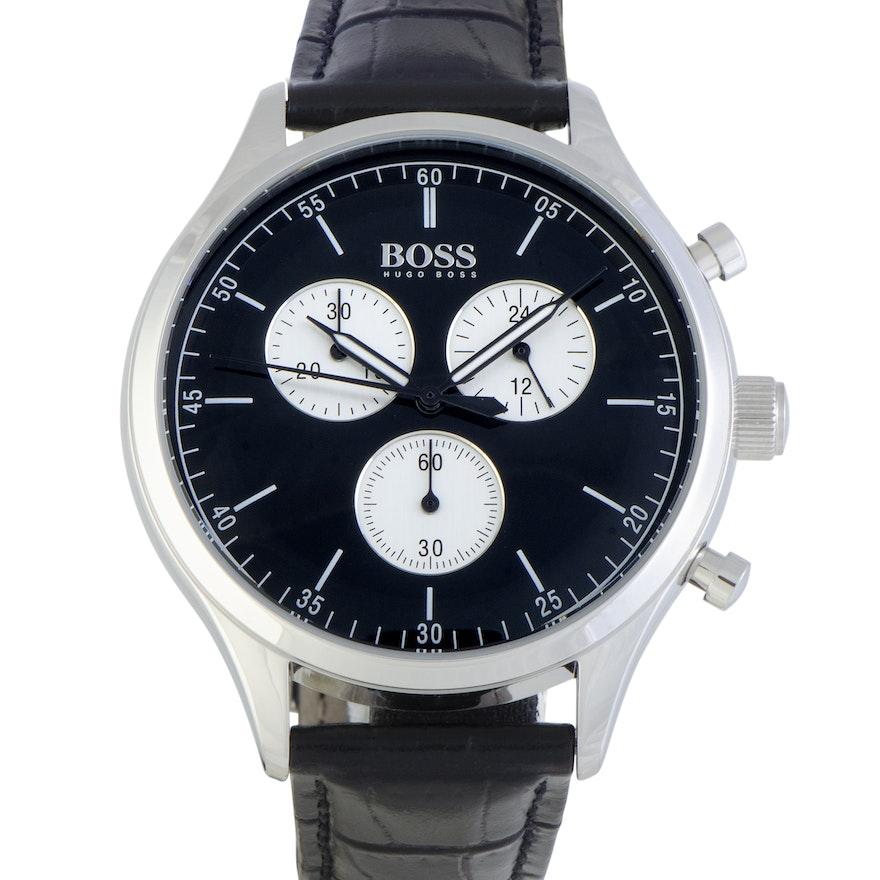 Hugo Boss Companion 42mm Wristwatch Black