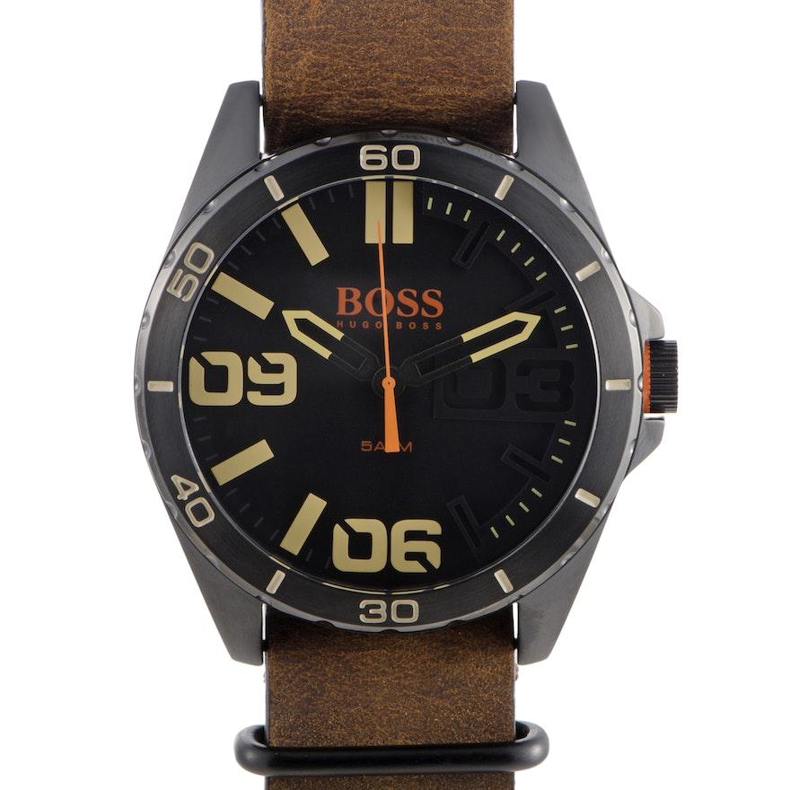 Hugo Boss Berlin Chronograph Wristwatch Black